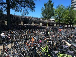 parking bicis en Holanda