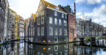 Los canales en Holanda