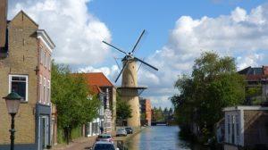 Molinos de viento de Schiedam, los más altos de Holanda