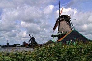 Molinos Zaanse Schans, descubre como se vivía en Holanda